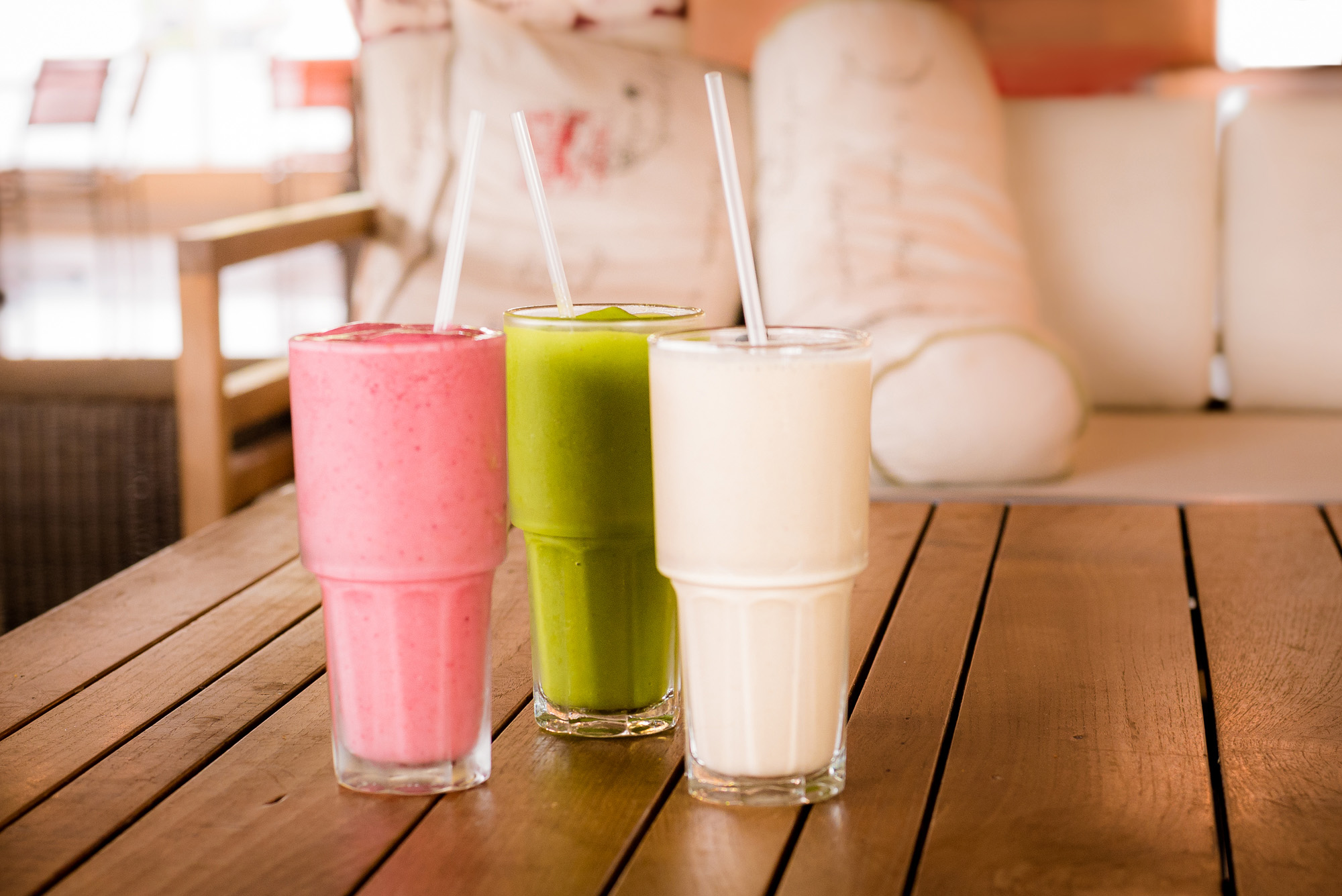 Smoothies - Fruitsy, Lean Green and PB & O