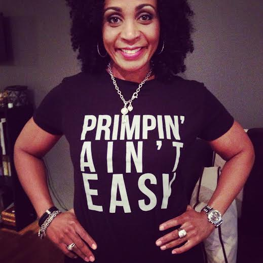 Rachel Lewis is rockin' that Tee with our company motto!
