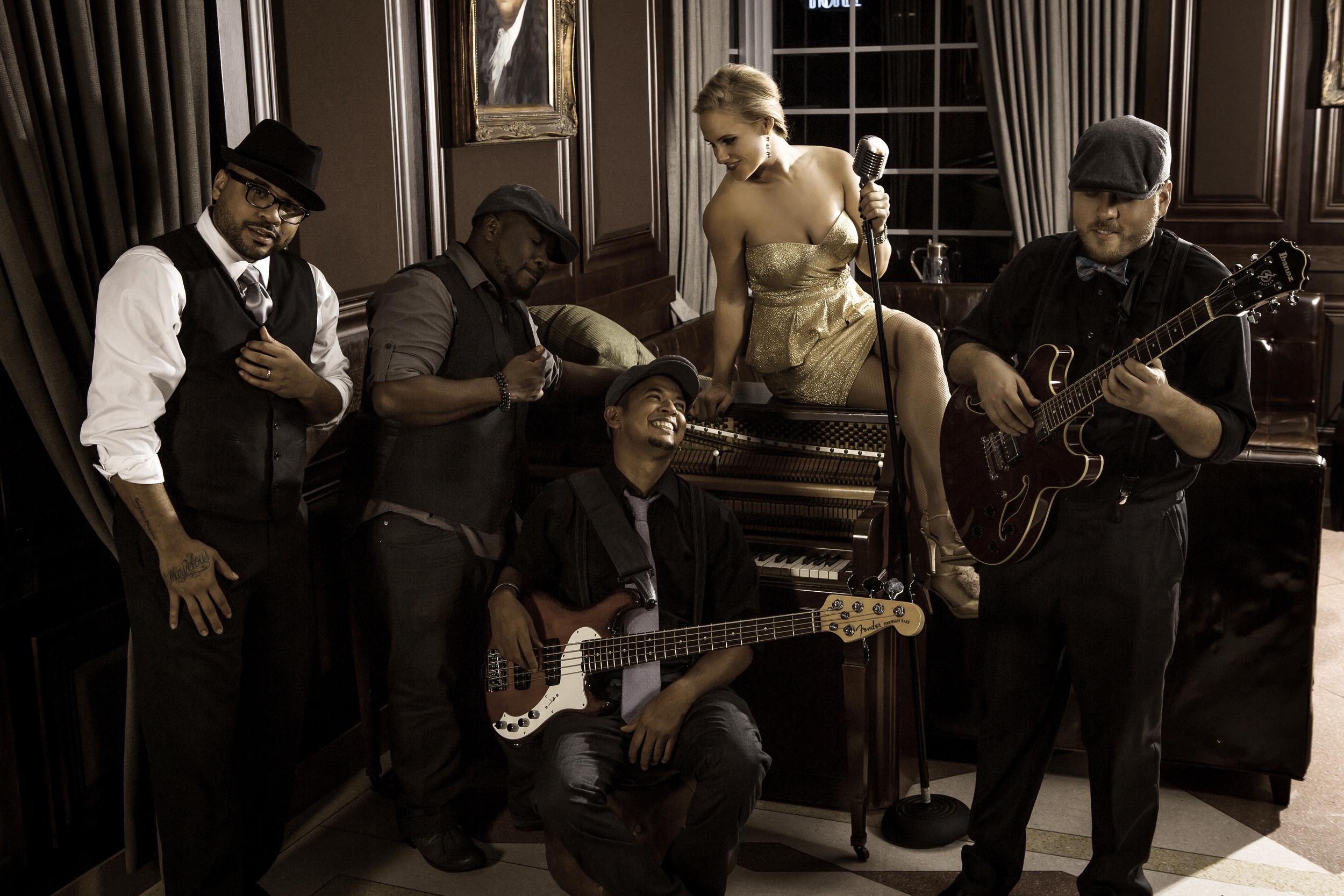 Kitty Carmichael and Band, The Regent, Miami Beach, Florida USA December 2013