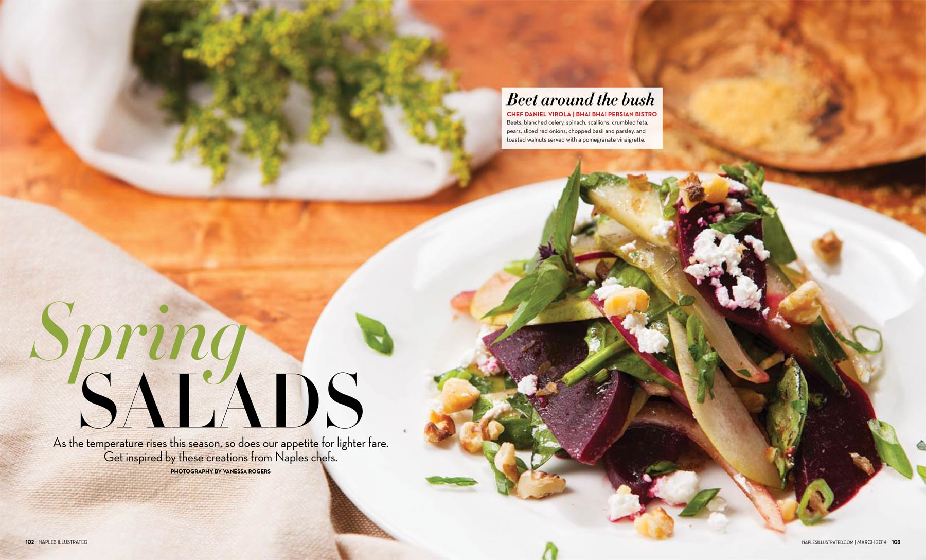 Naples Illustrated Salad Feature March 2014 Copyright Vanessa Rogers Photography 2014