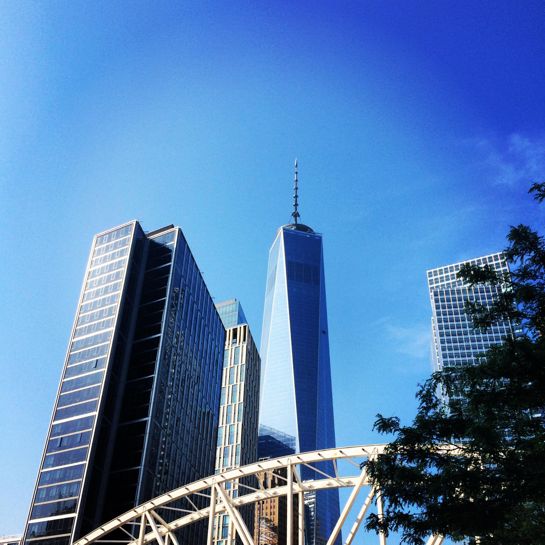 Freedom Tower New York City. Lower Manhattan June '14