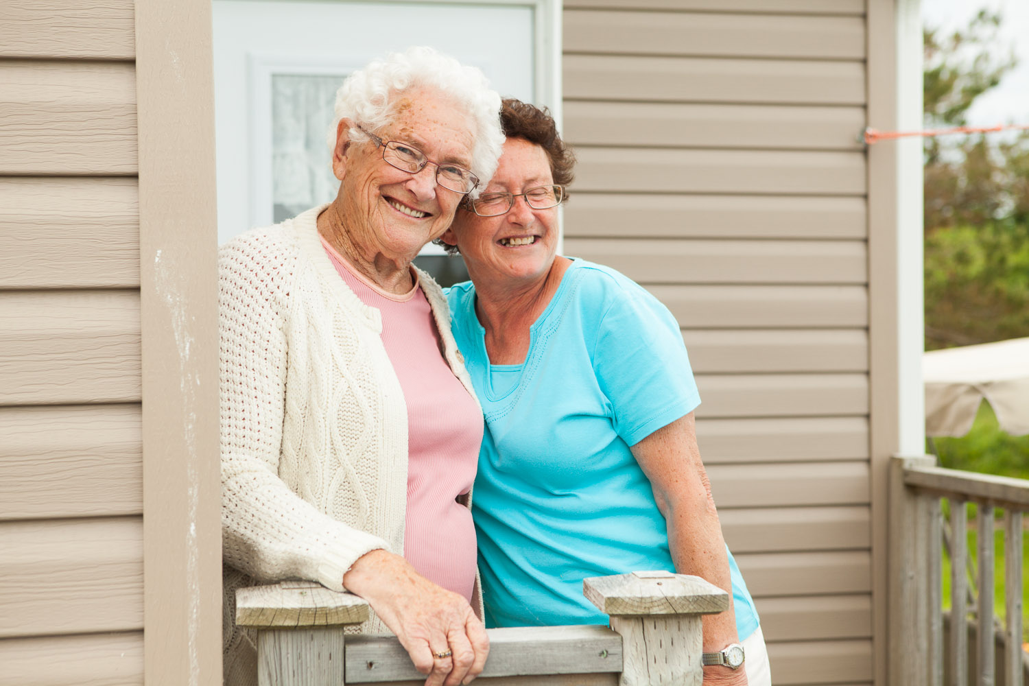 Nannie and Susie Tanner of Black Rock, two of the most lovely souls I came across during my trip to Nova Scotia.