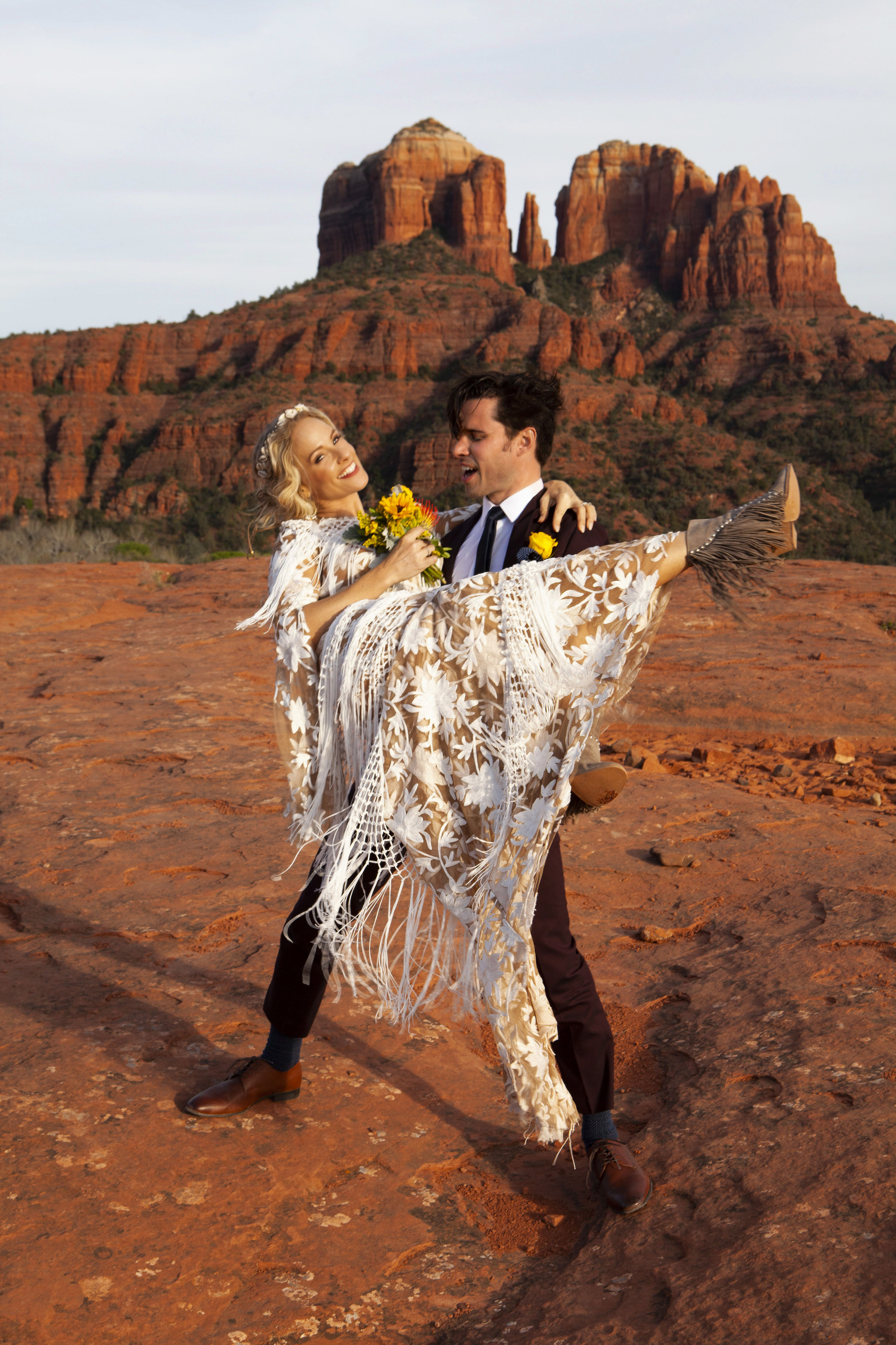 Alejandro and Cat's Nuptials Sedona, Arizona 2019