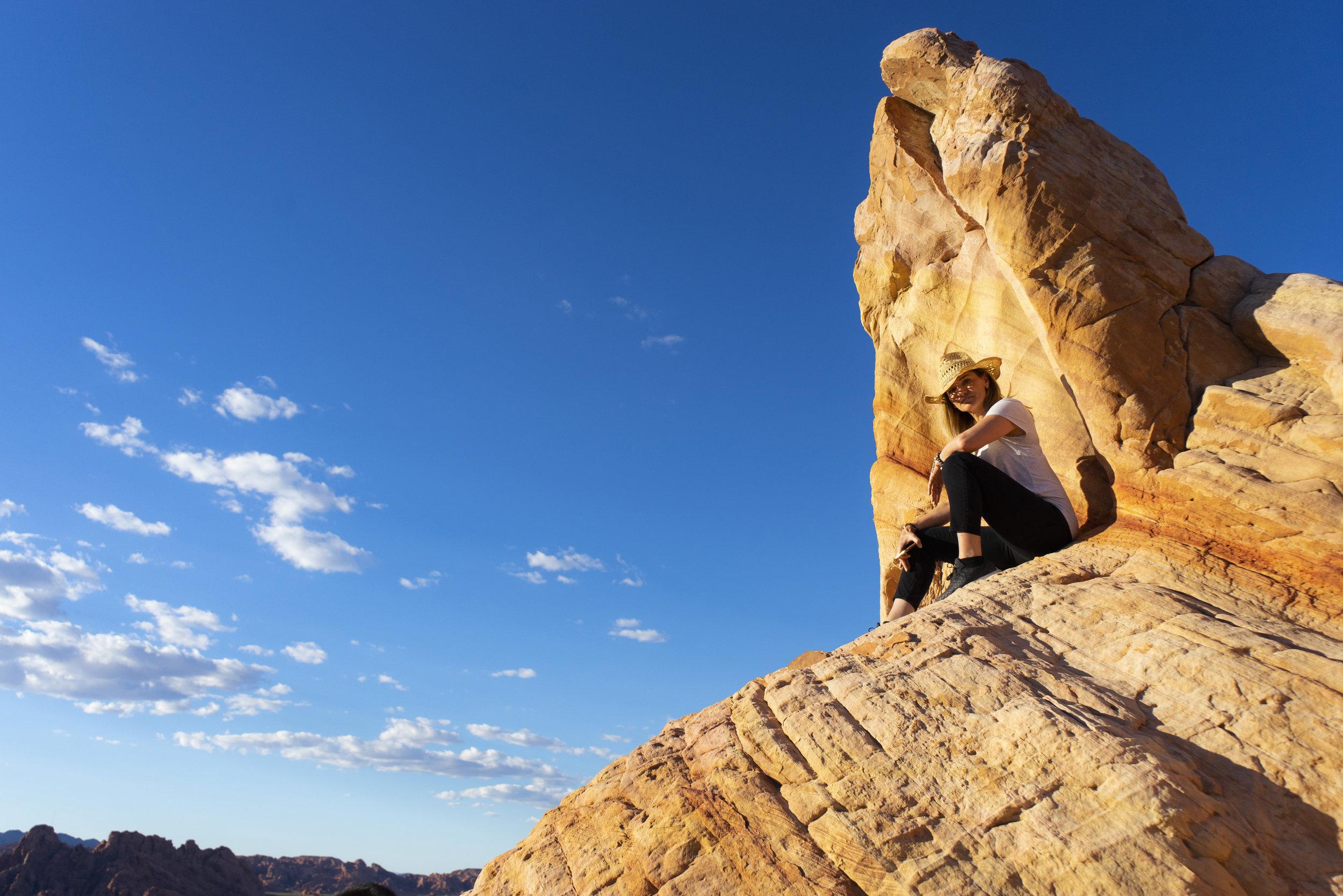 Vanessa Rogers Photographer, Valley of Fire, Las Vegas, Nevada - Credit Roni Fields-Moonen