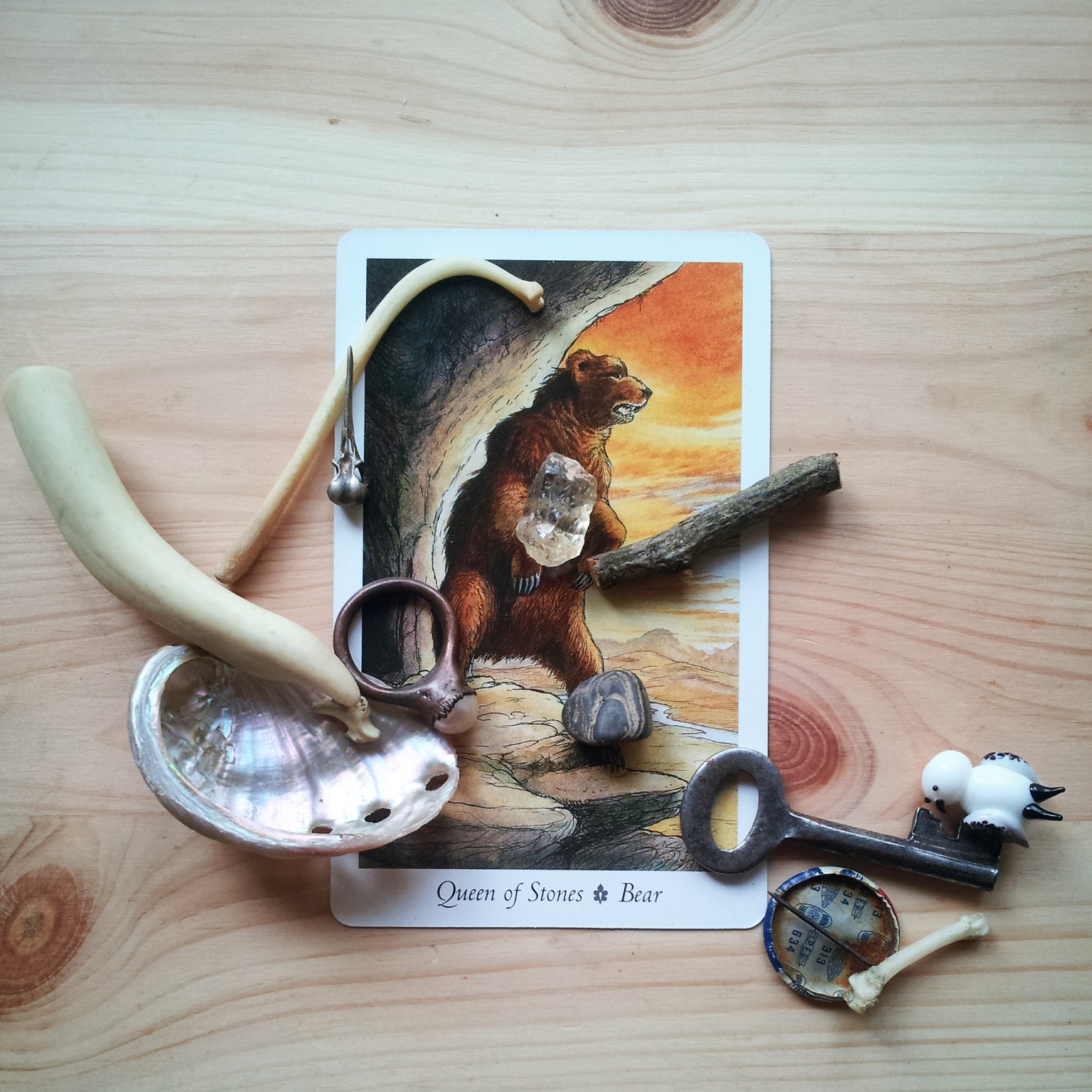 Wildwood and bone reading.