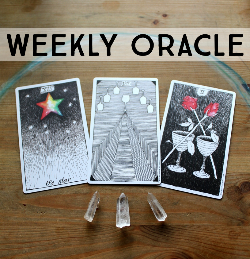 weekly oracle wild unknown tarot deck the star