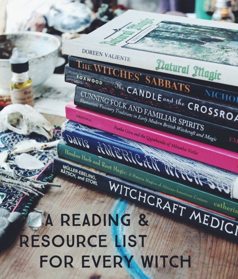 Reading and Resource List for Every Witch