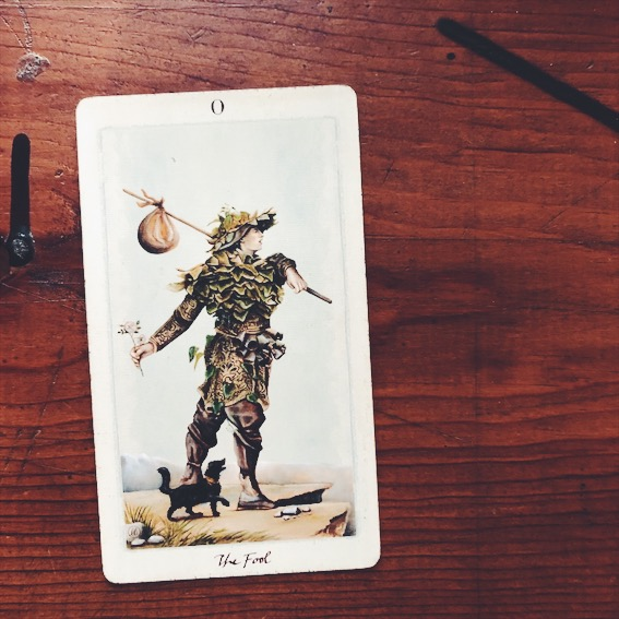 uusi design studio pagan otherworlds tarot the fool