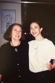 Romana and I                 Fall 1998