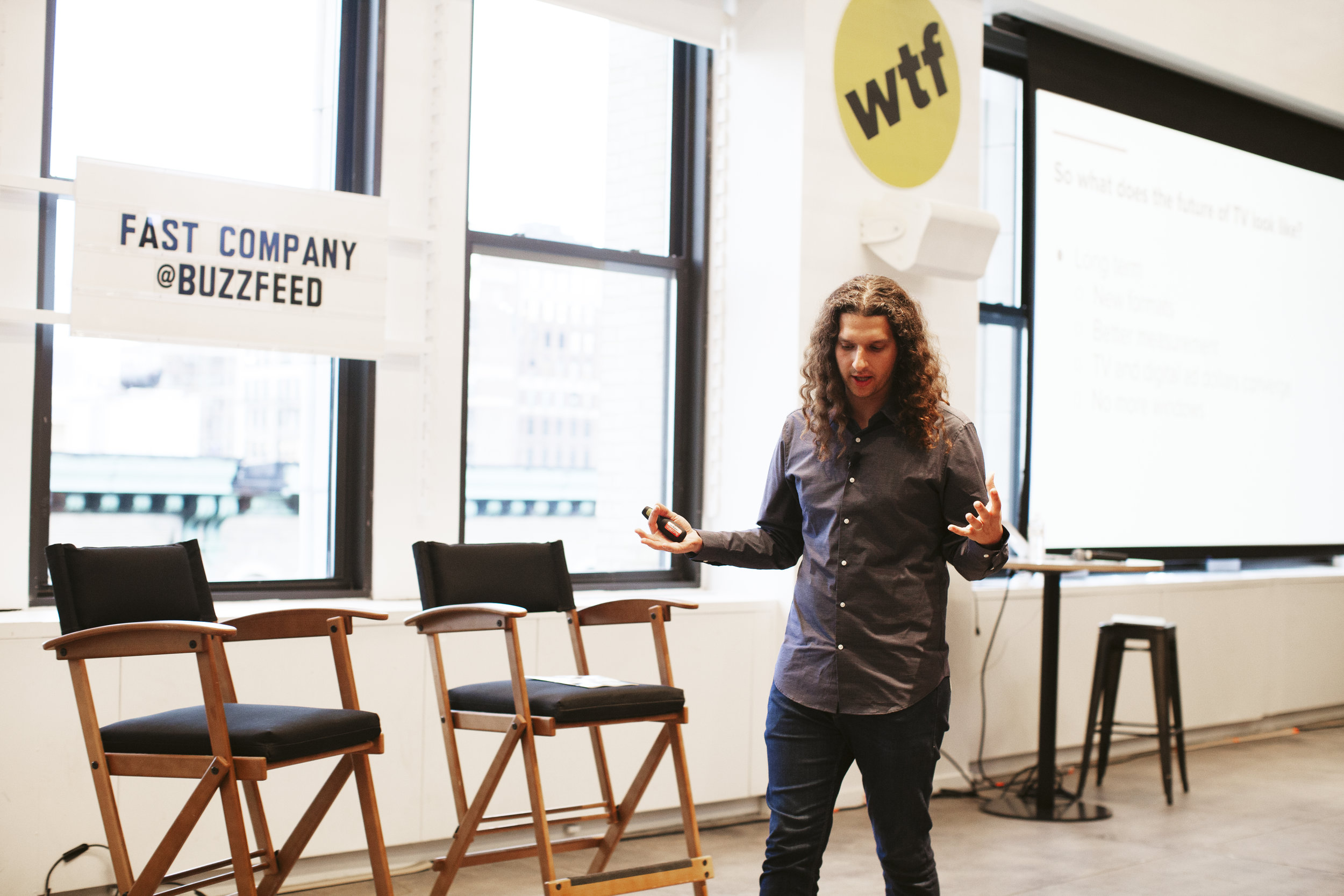 Buzzfeed for Fast Company