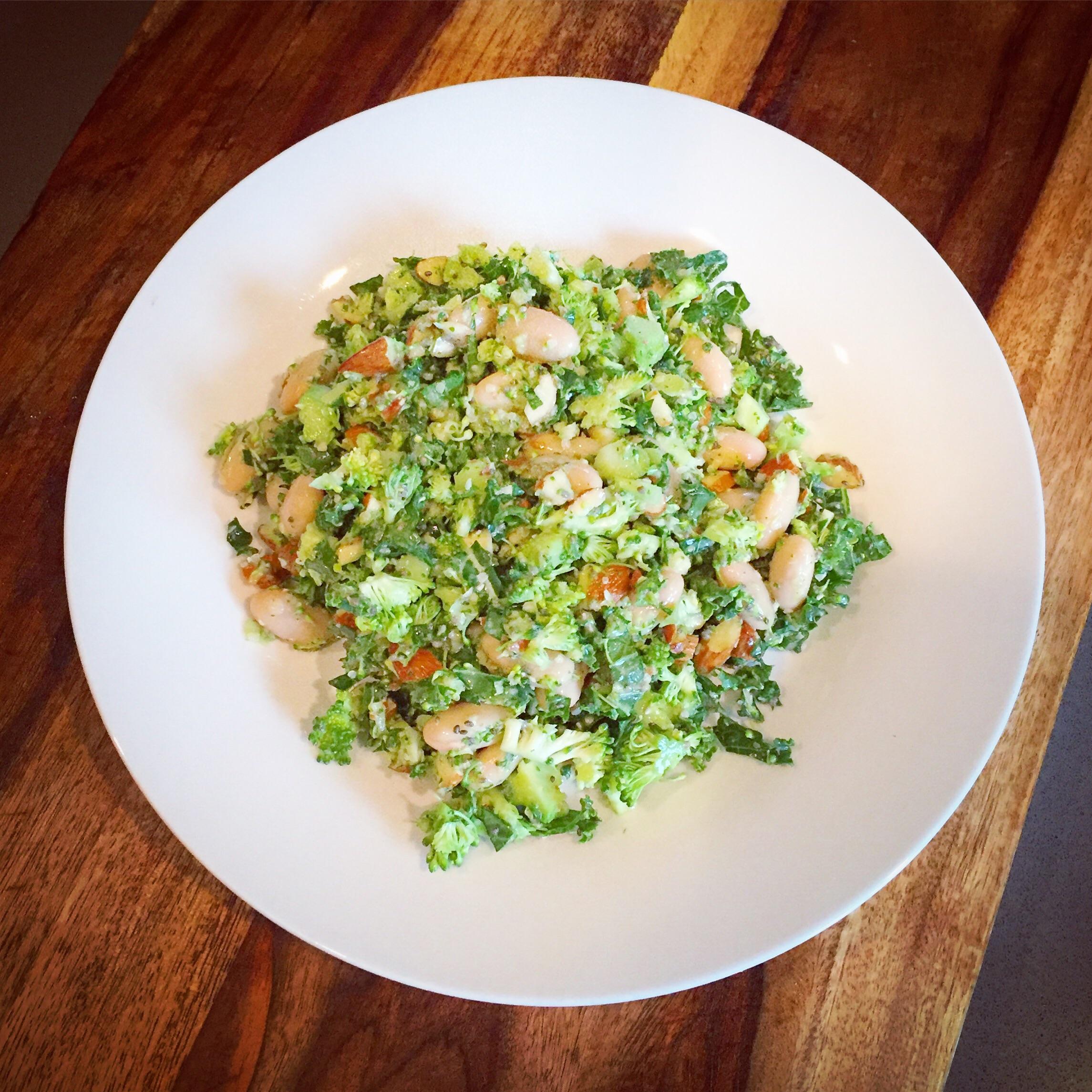 Calcium-rich Chopped Salad