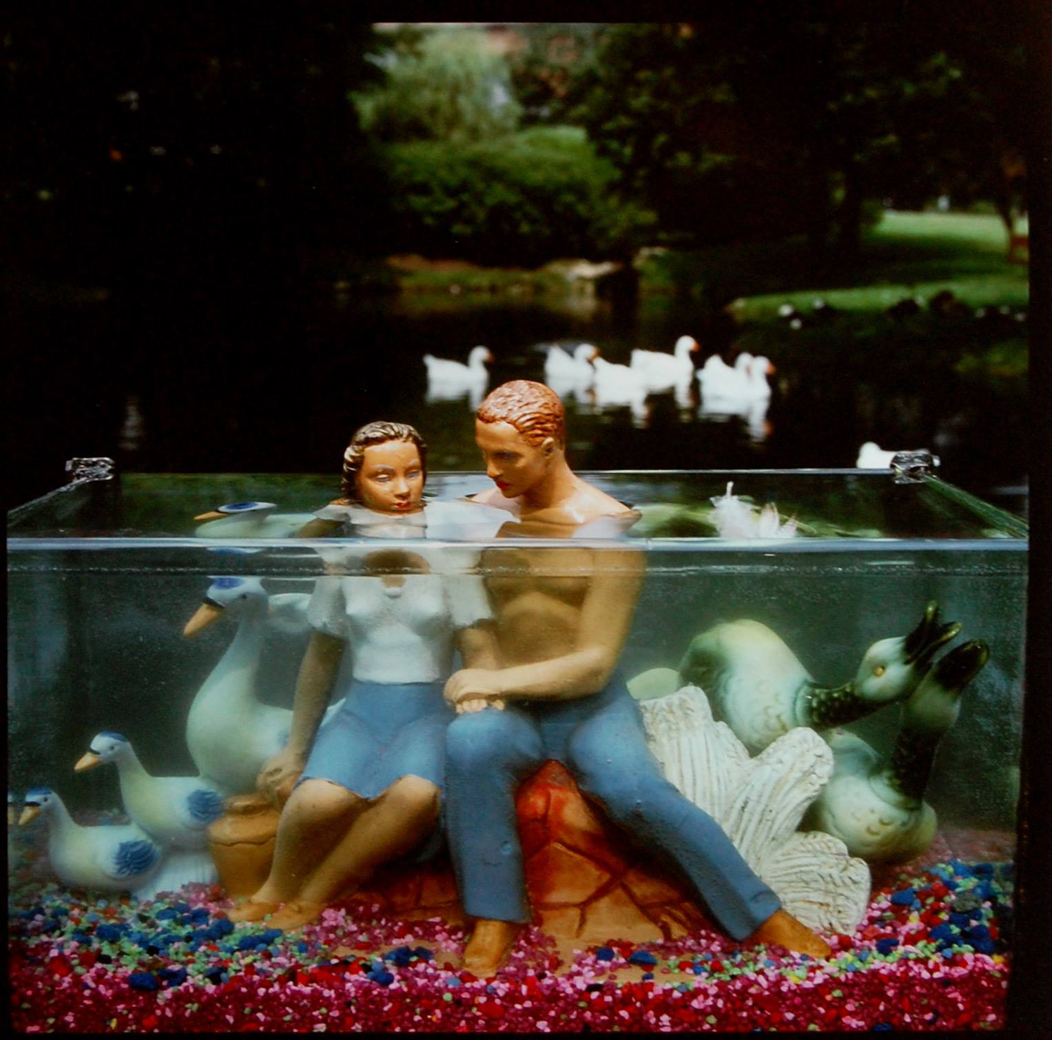 """ARTHUR TRESS (b. 1940) """"Flock of Young Lovers"""" 1989 Cibachrome print 16 x 20 inches Ed. 4/50"""