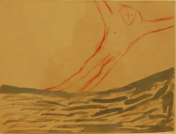 Paladino - Untitled 1980 gouache.JPG