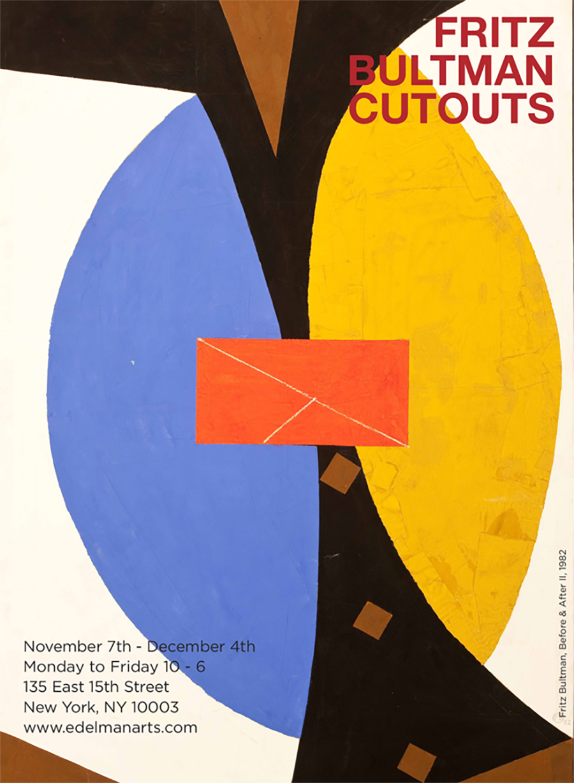 Fritz Bultman: Cutouts  November 7th - December 4th, 2015