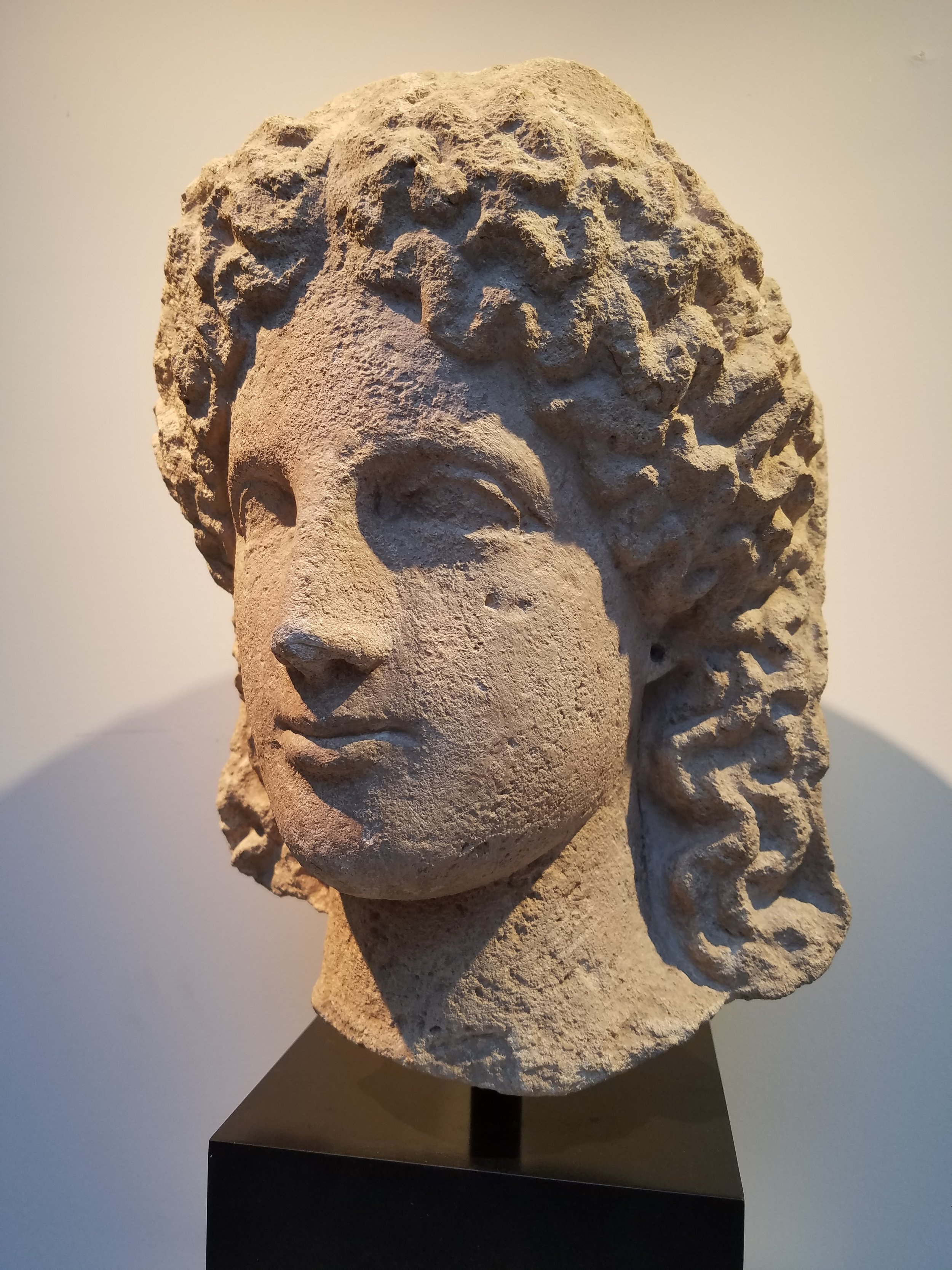 Female Head from a Cult Statue