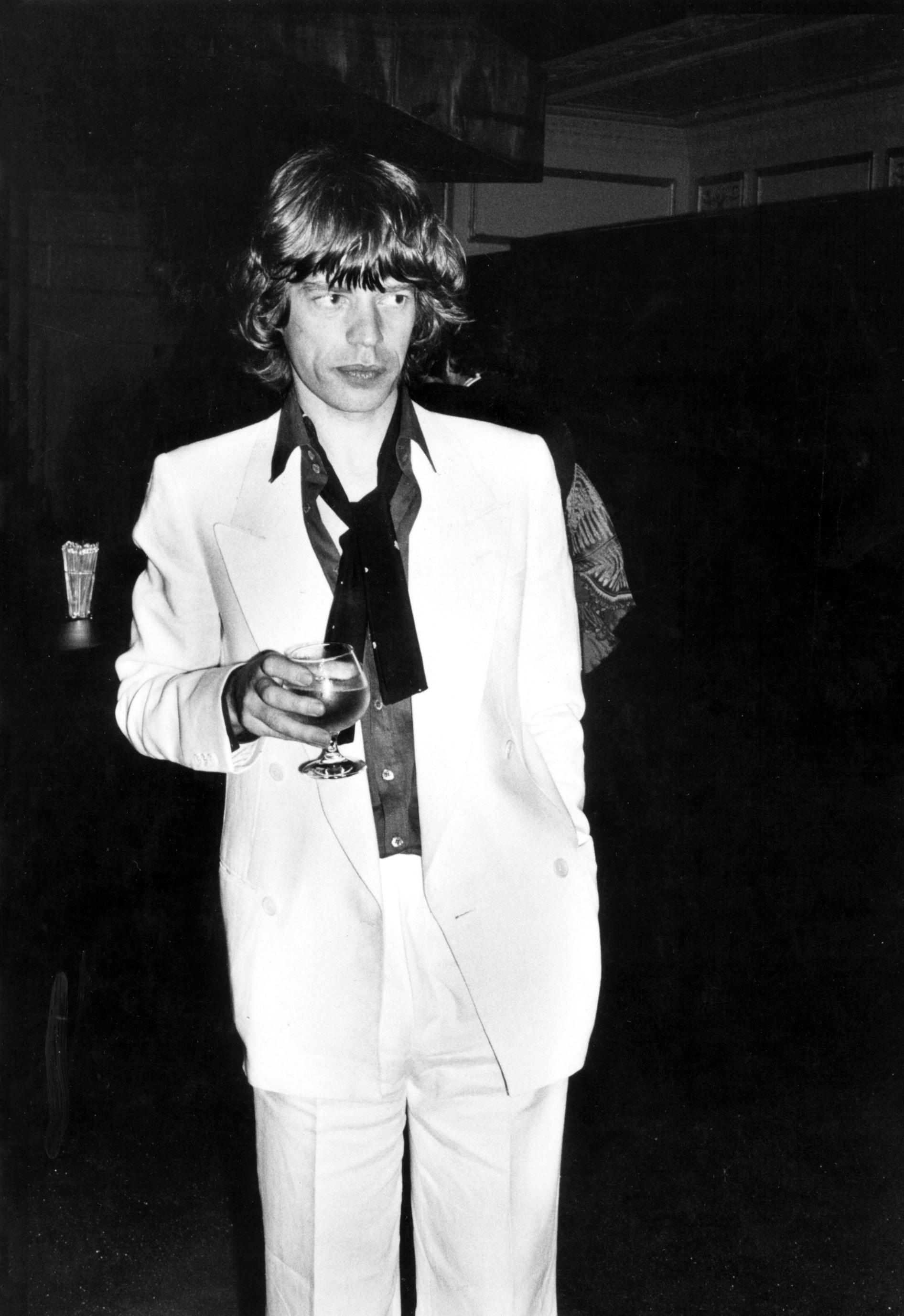 Rose Hartman - Mick Jagger at Bianca's birthday.jpeg