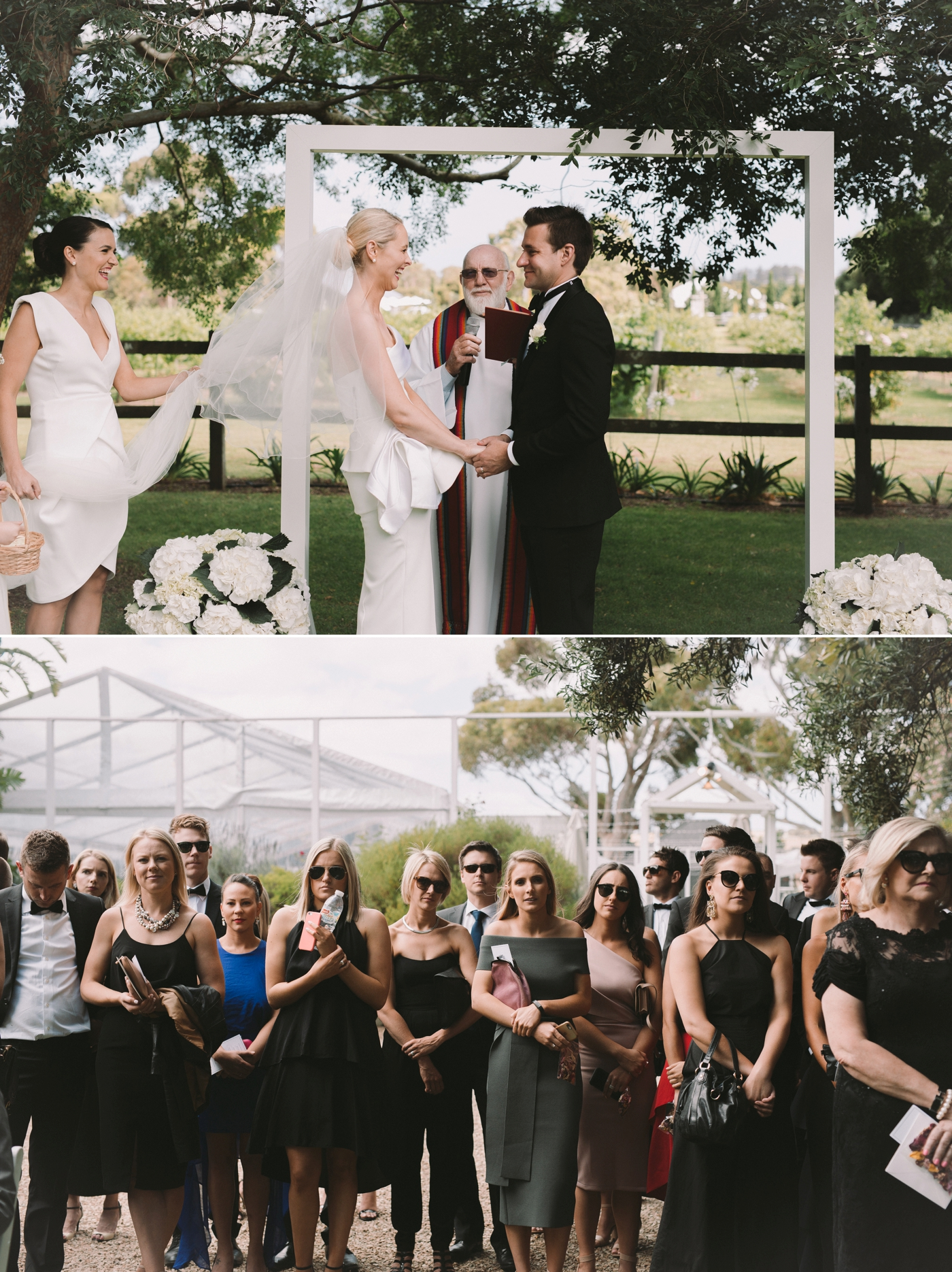 Bec and Brad - Waverley Estate Wedding - Natural wedding photographer in Adelaide