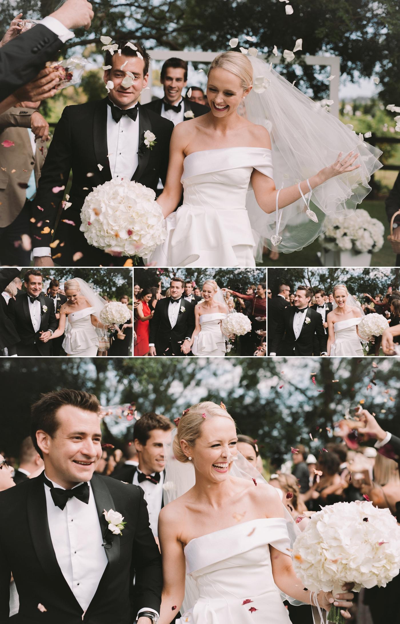Bec and Brad - Waverley Estate Wedding - Natural wedding photographer in Adelaide