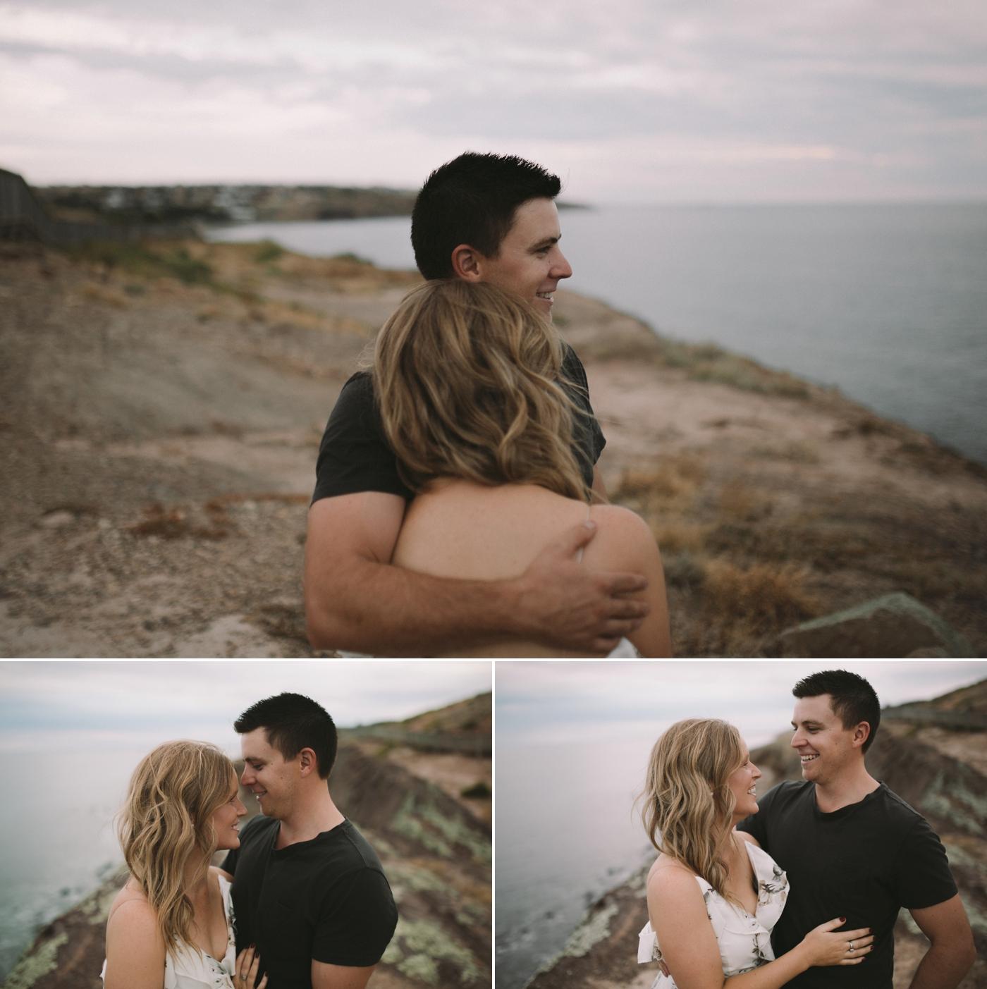 Lisa & Lachlan - Adelaide Engagement Photographer - Natural photographer in Adelaide - www.katherineschultzphotography.com 4
