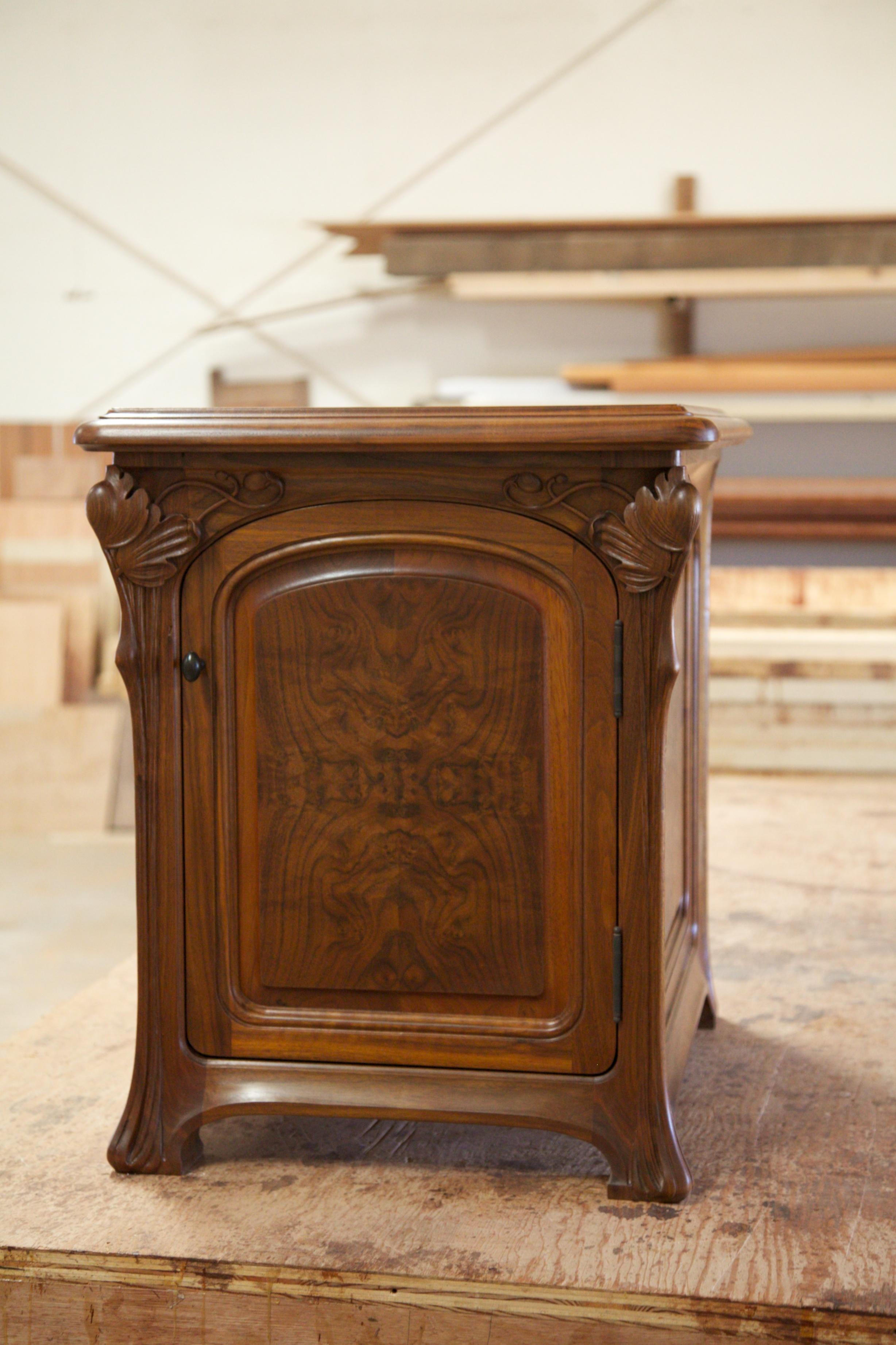 Art Nouveau Computer Cabinet