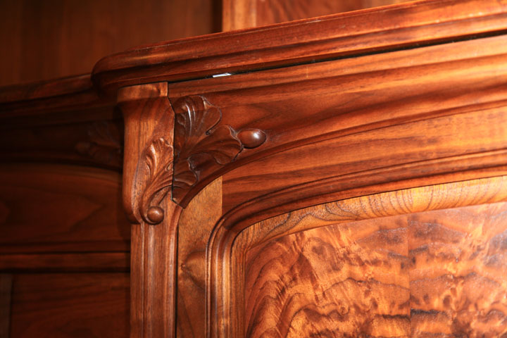 Custom fabricated hardware is one of our specialties.