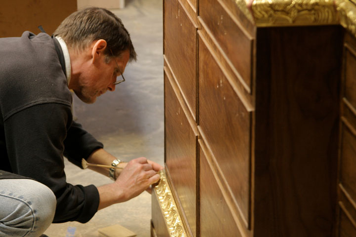 In-house gilding.