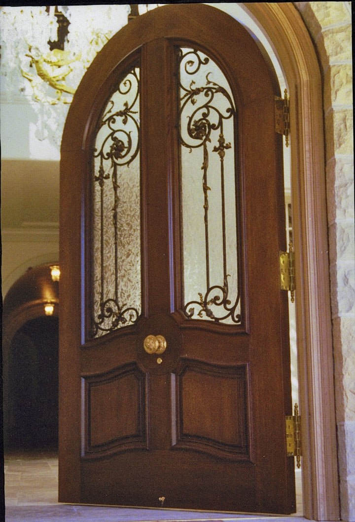 White Oak Entry Door