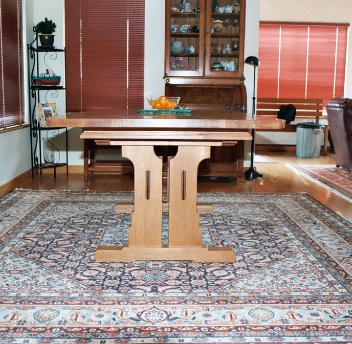 Table designed for a San Francisco ship pilot.