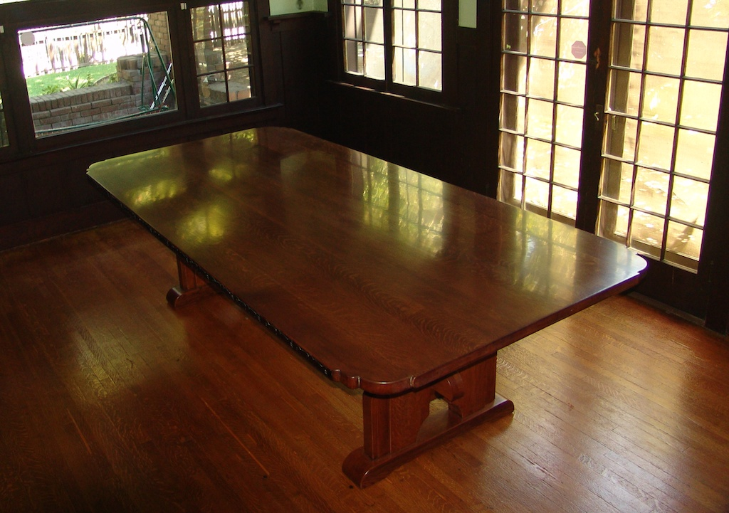 Craftsman White Oak Dining Table