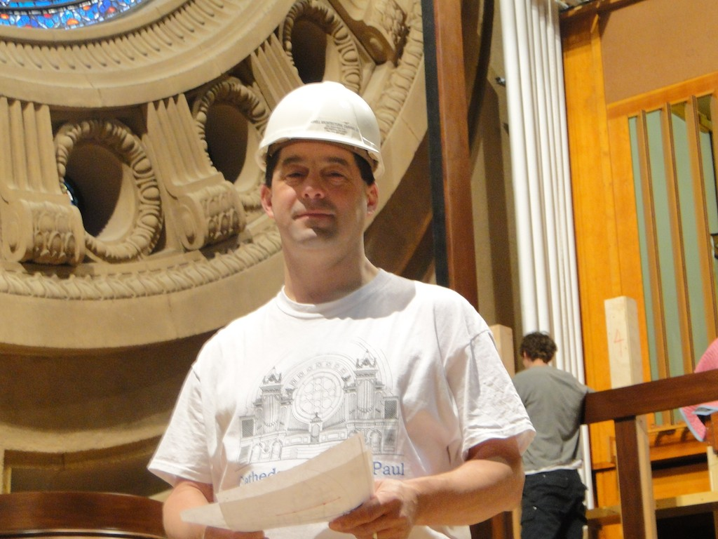 Site Engineer Jason Feldman.