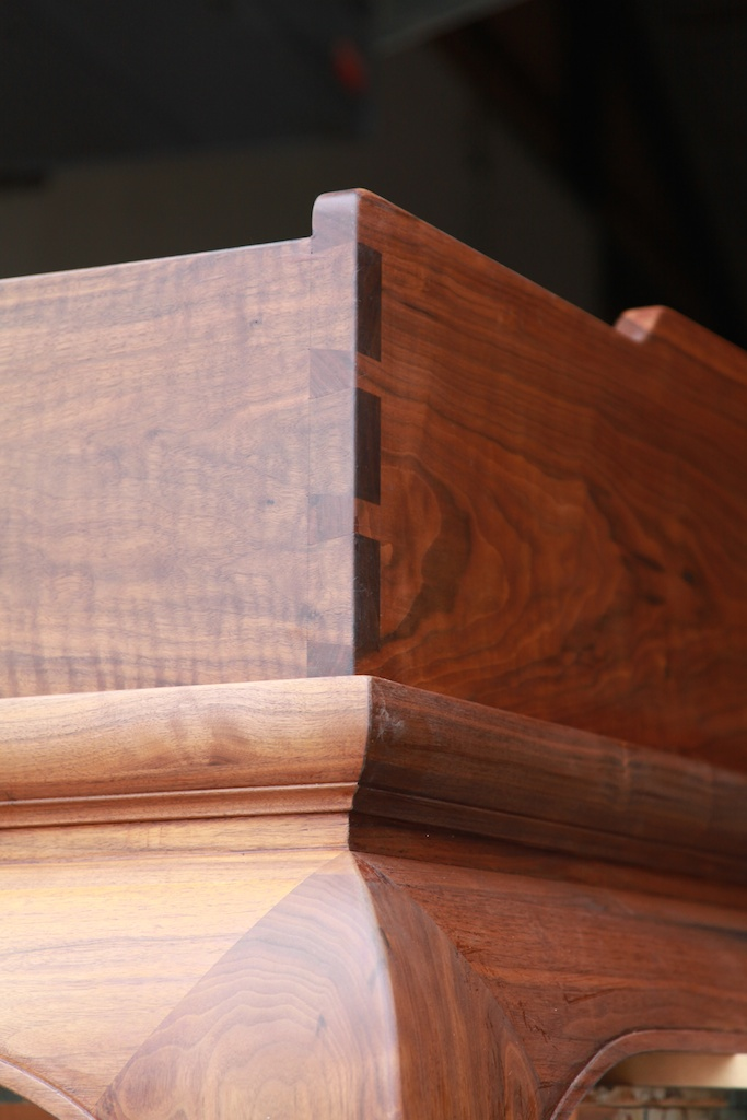 Hand-cut dovetails.