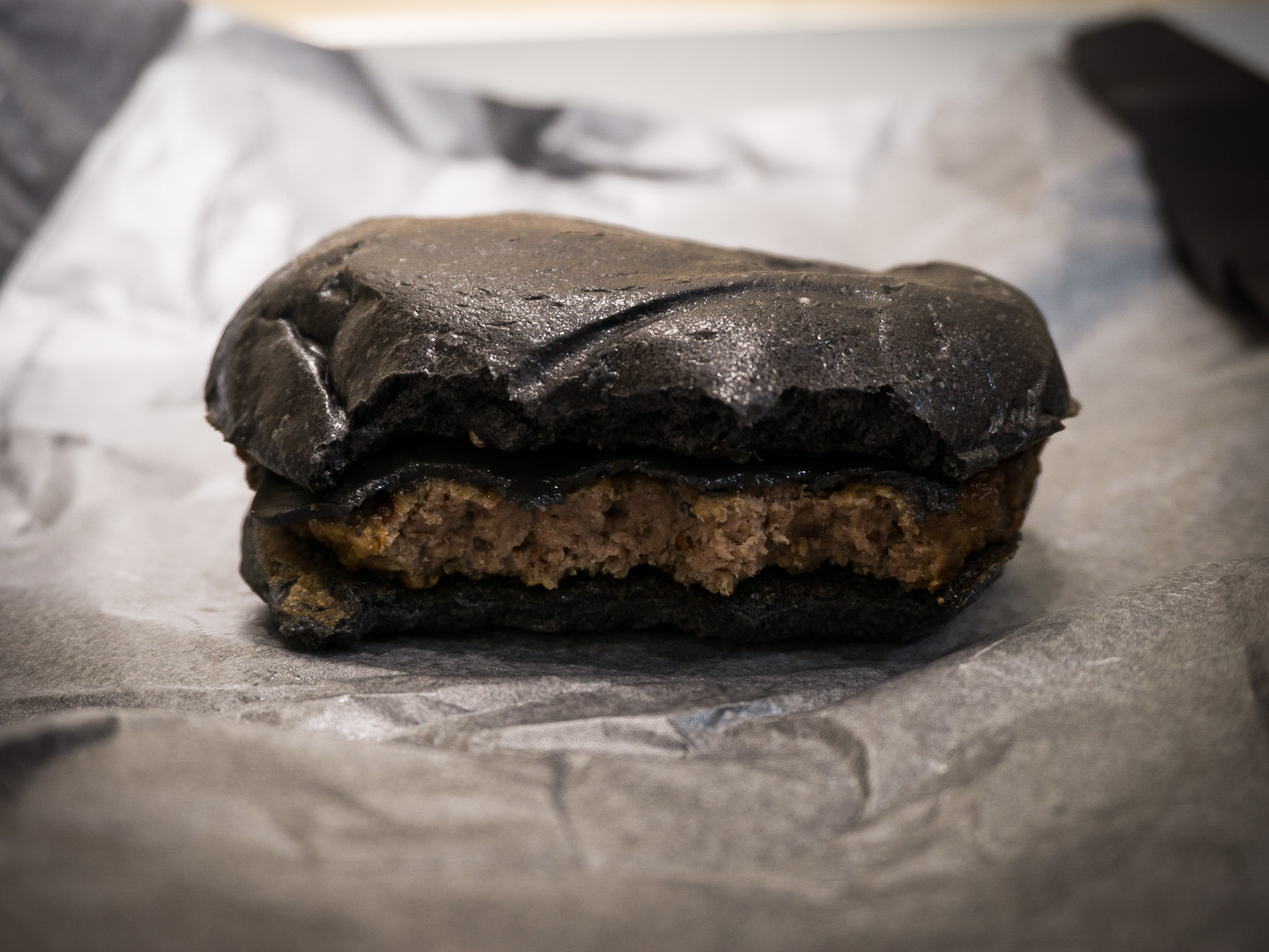 Burger King's scary Black Burger
