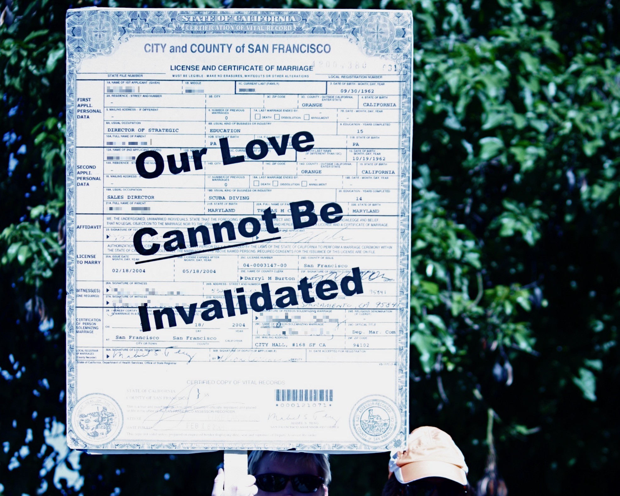 Sign: Our Love Cannot be Invalidated via Flicker