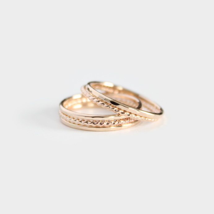 Junghwa Stacking Rings