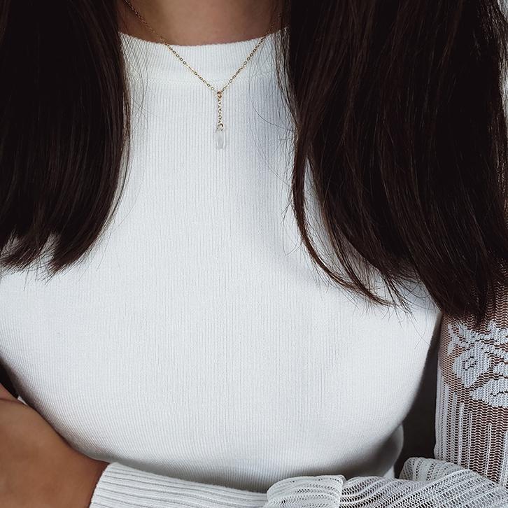 Petals Drop Necklace
