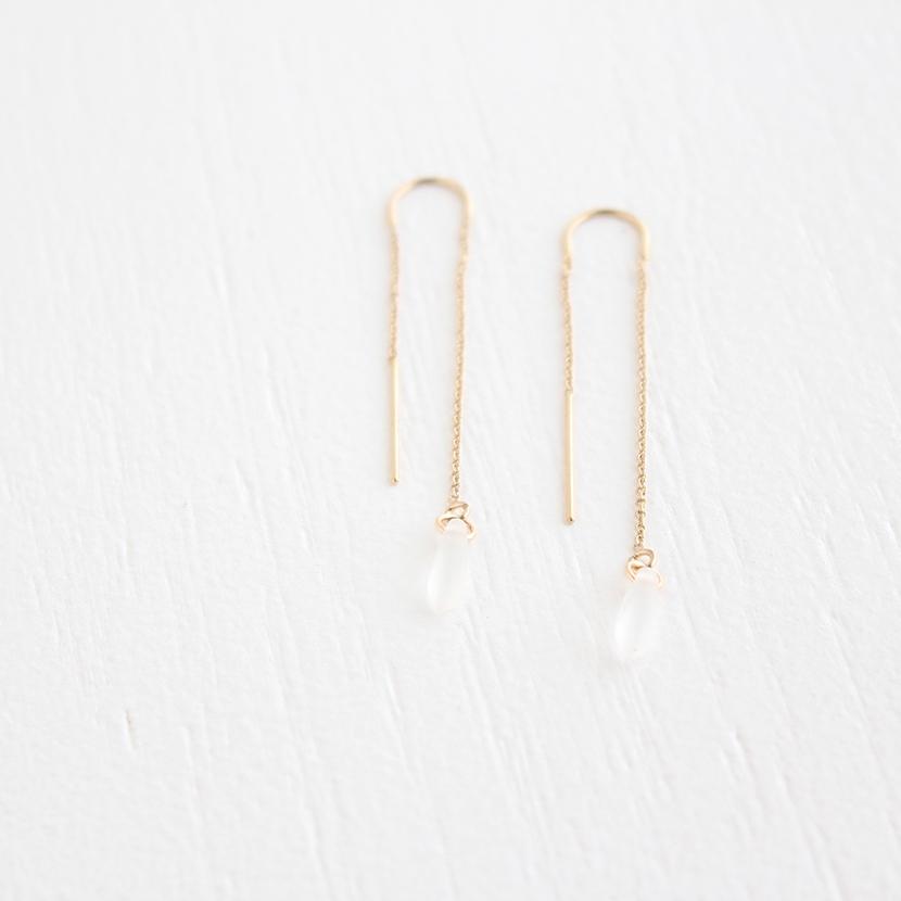Petals Drop Earrings