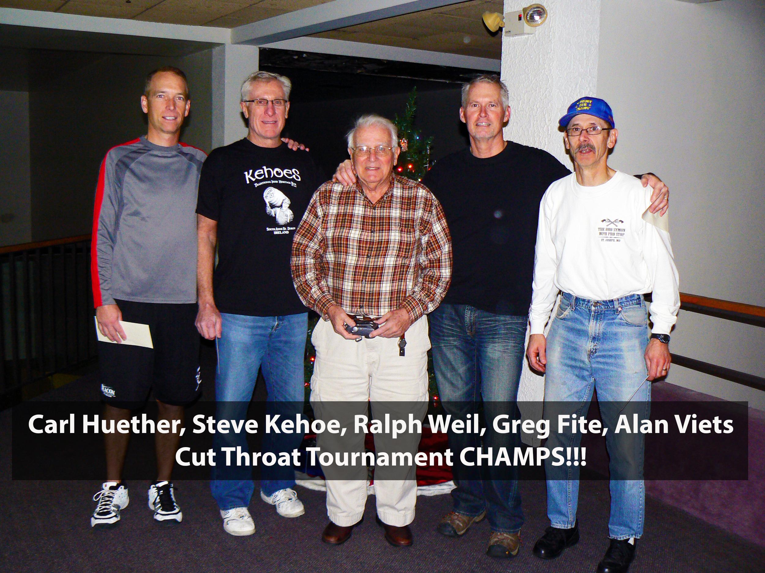 Carl Huether, Steve Kehoe, Ralph Weil, Greg Fite, Alan Viets Cutthroat champs.png