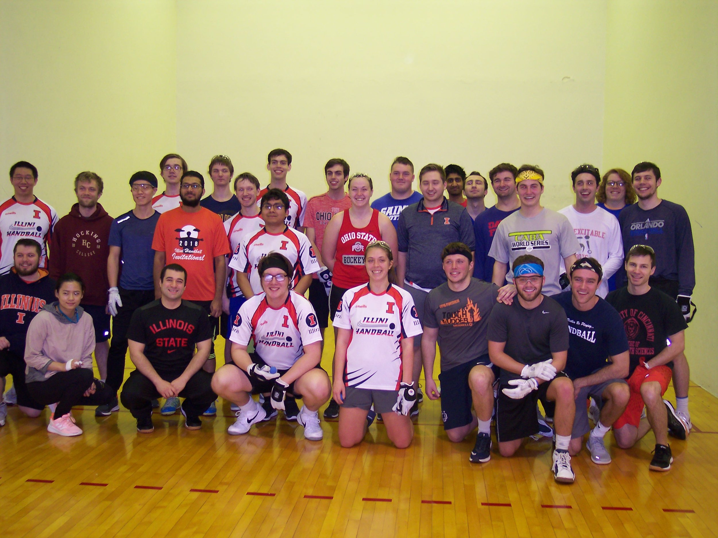 Collegiate Friendly Tournament (2-2-19) was a huge success with particpants from 7 colleges.