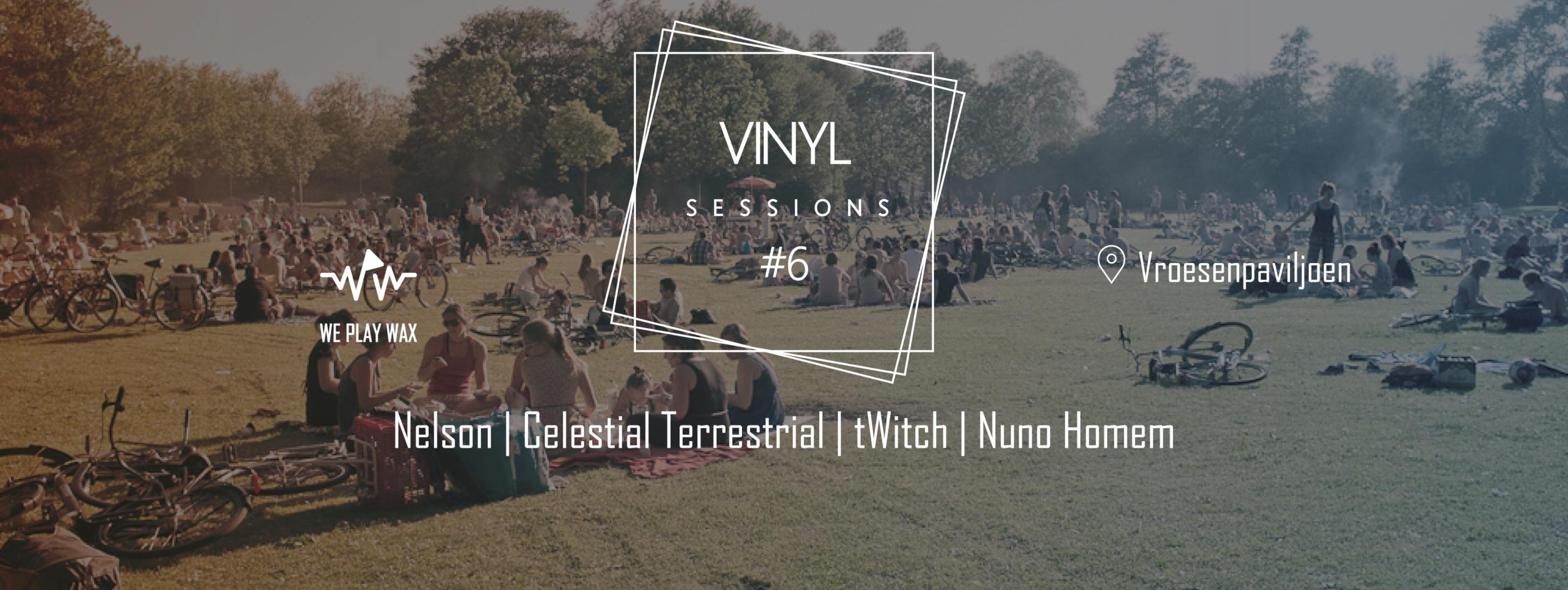 Vinyl Sessions #06 and Club Von Westen - Vroesenborrel