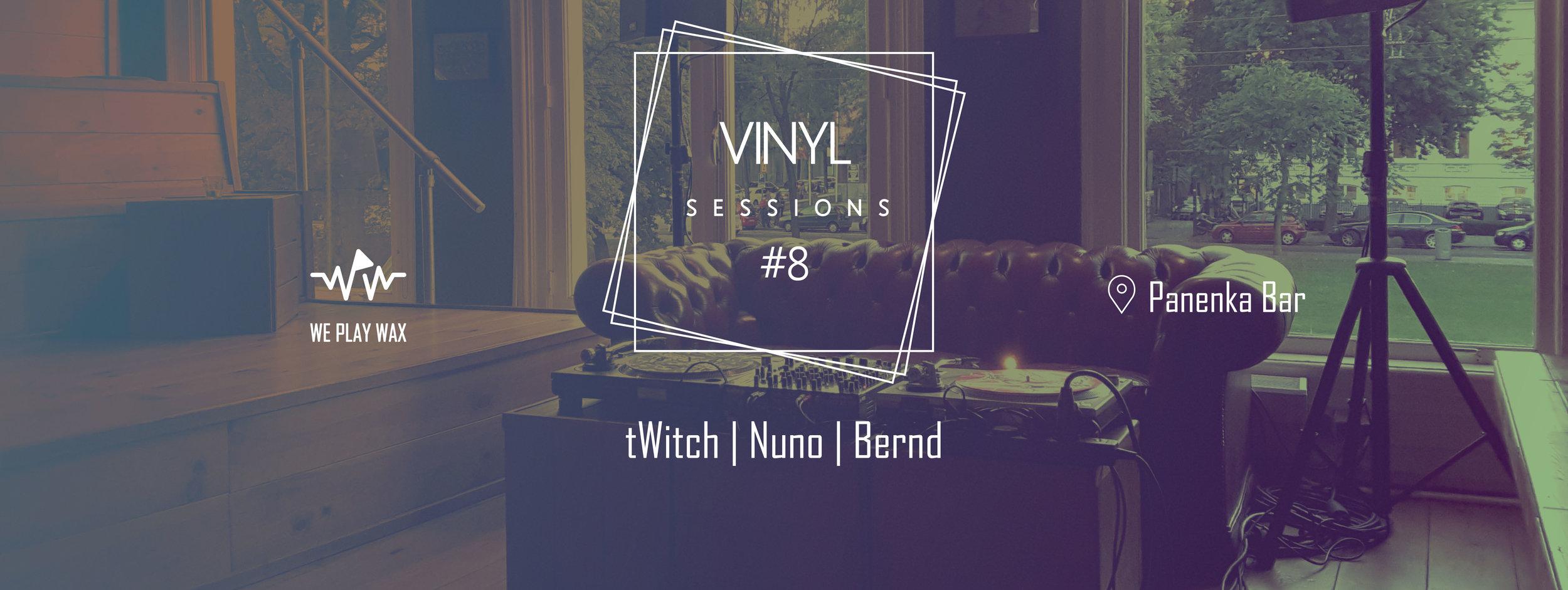 Vinyl Sessions #08 - tWitch, Nuno, Bernd