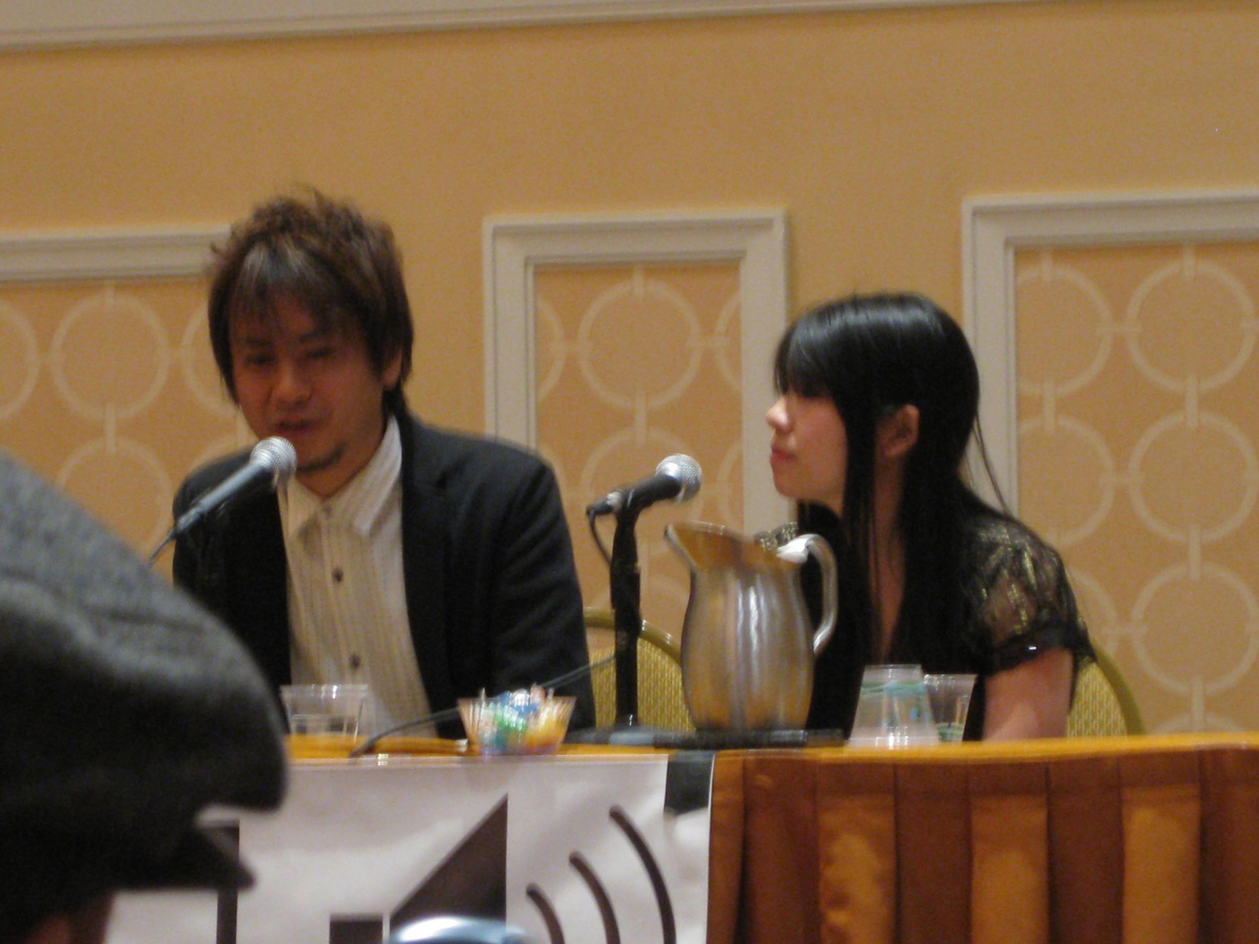 At the Yuzo Koshiro Q&A