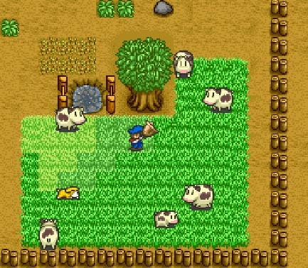 A Scene from  Harvest Moon
