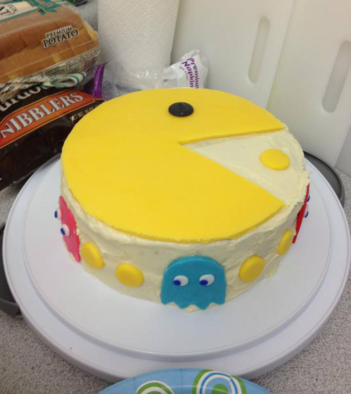 Jen  made this cake  for me for my birthday!