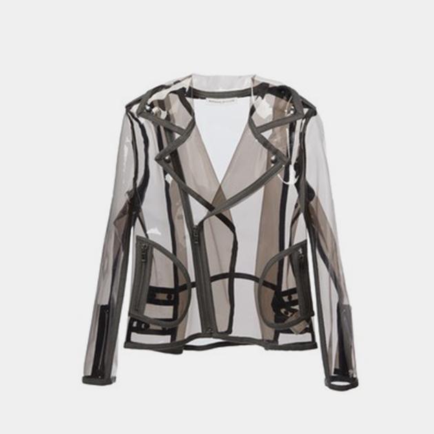 Wanda-Nylon-Clear-Moto-Jacket