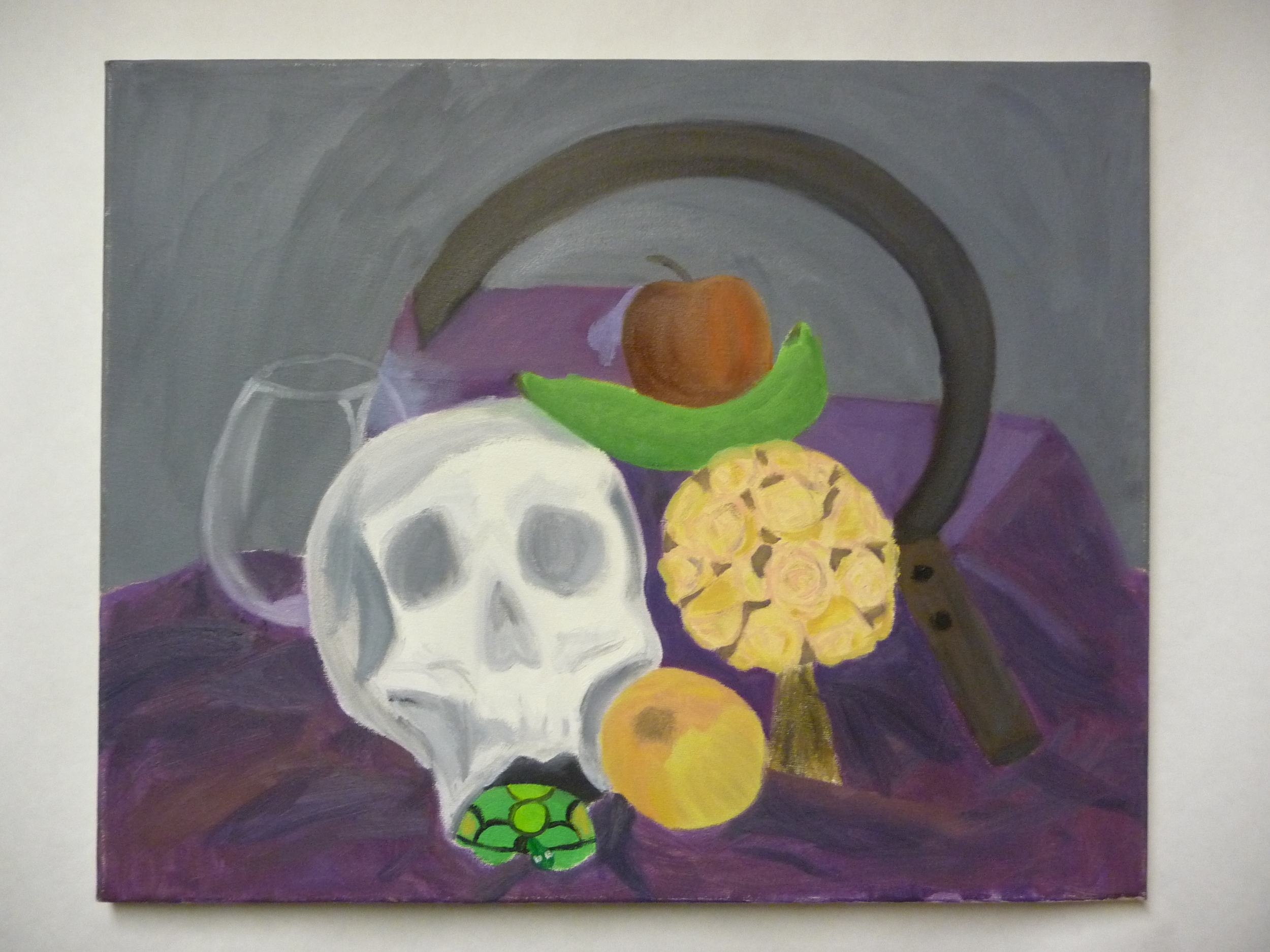 Sickle and Skull Still Life