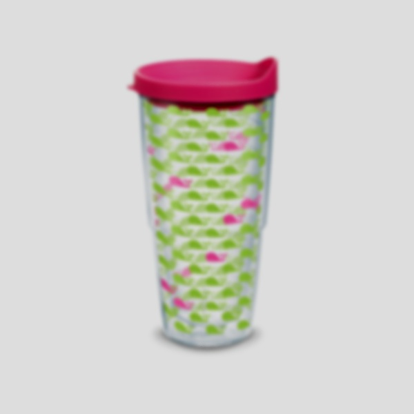 Tervis 1313039 William /& Mary Tribe Colossal Insulated Tumbler with Wrap and Hunter Green Lid 4 Pack Boxed 16oz Clear