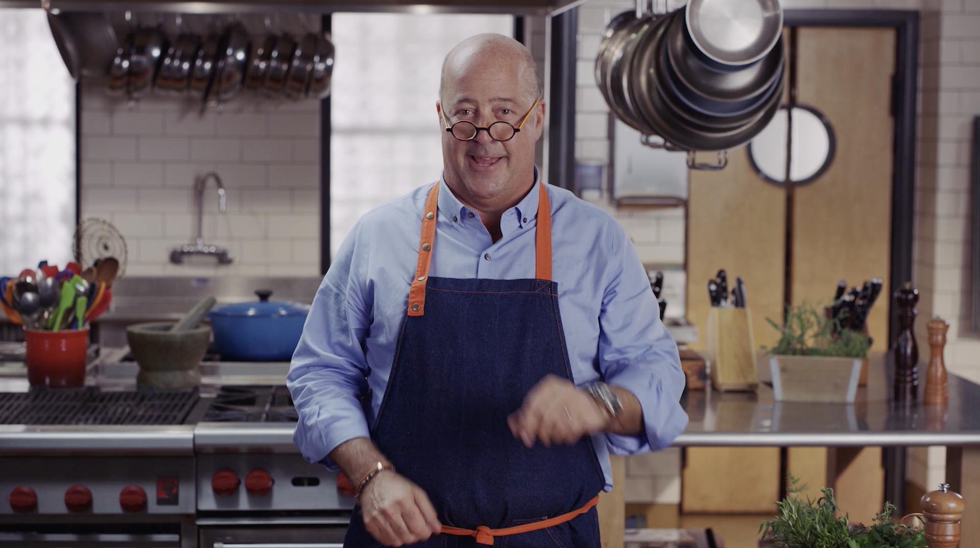 Andrew Zimmern - Cooking Essentials Promo