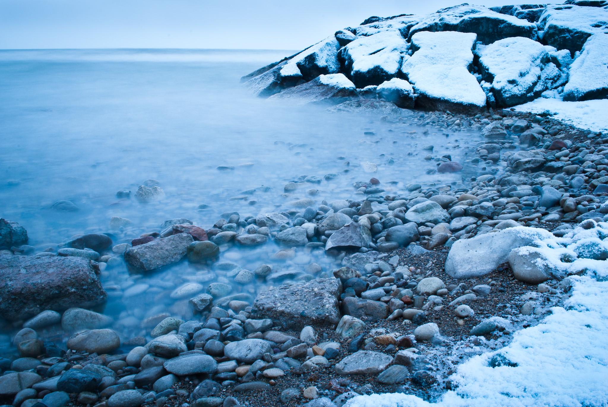 Lake Huron Winter