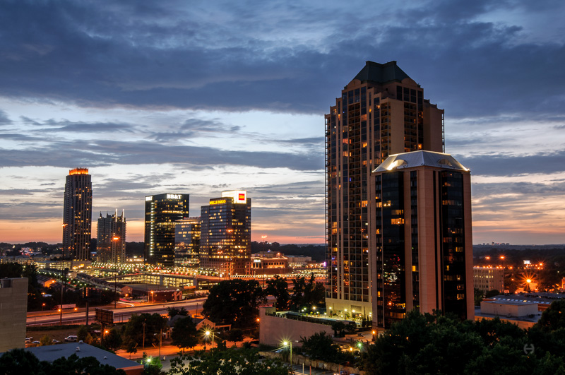 Sunset, Atlanta