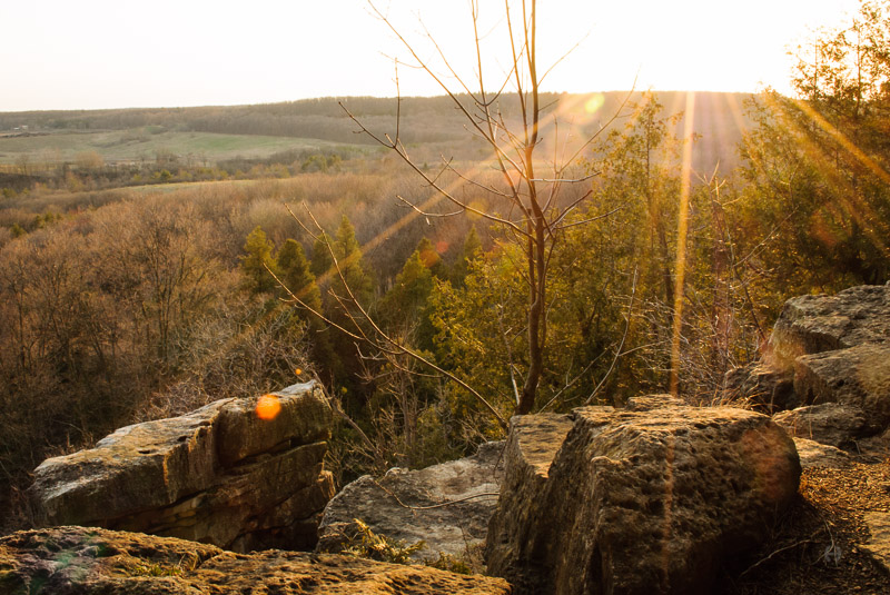 Sunset at Rattlesnake Point, Milton